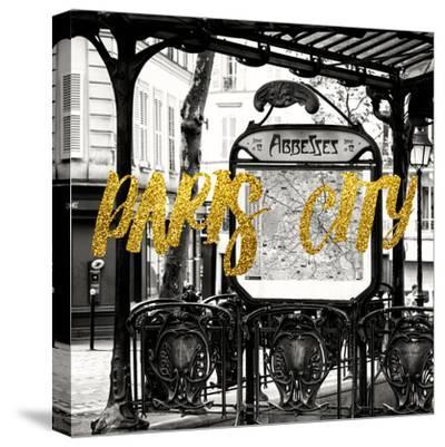 Paris Fashion Series - Paris City - Metro Abbesses
