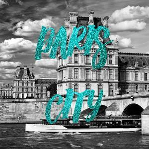 Paris Fashion Series - Paris City - The Louvre II by Philippe Hugonnard