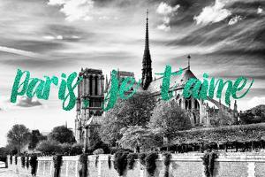 Paris Fashion Series - Paris, je t'aime - Notre Dame Cathedral IV by Philippe Hugonnard