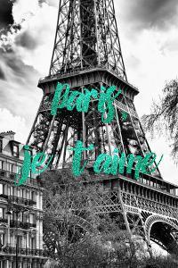 Paris Fashion Series - Paris, je t'aime - The Eiffel Tower III by Philippe Hugonnard