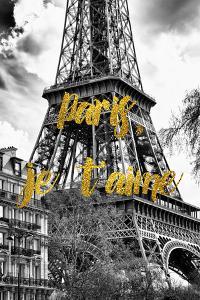 Paris Fashion Series - Paris, je t'aime - The Eiffel Tower by Philippe Hugonnard