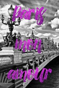 Paris Fashion Series - Paris mon amour - Paris Bridge II by Philippe Hugonnard