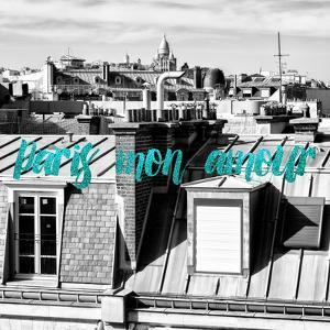 Paris Fashion Series - Paris mon amour - View of Roofs III by Philippe Hugonnard