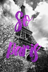 Paris Fashion Series - So Paris - Eiffel Tower III by Philippe Hugonnard