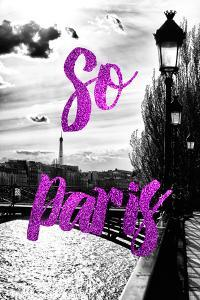 Paris Fashion Series - So Paris - Paris Bridge IV by Philippe Hugonnard