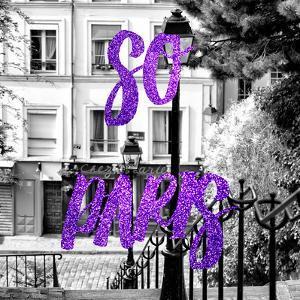Paris Fashion Series - So Paris - Staircase Montmartre II by Philippe Hugonnard