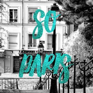 Paris Fashion Series - So Paris - Staircase Montmartre IV by Philippe Hugonnard
