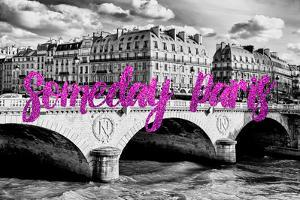 Paris Fashion Series - Someday Paris - Pont Saint Michel III by Philippe Hugonnard