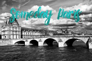 Paris Fashion Series - Someday Paris - The Louvre III by Philippe Hugonnard
