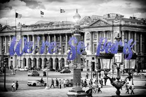 Paris Fashion Series - We're So Paris - Place de la Concorde II by Philippe Hugonnard