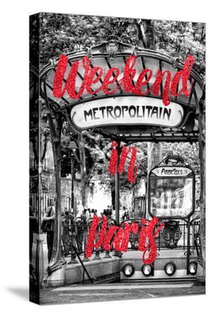 Paris Fashion Series - Weekend in Paris - Metropolitain Abbesses III