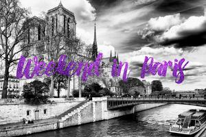 Paris Fashion Series - Weekend in Paris - Notre Dame Cathedral II by Philippe Hugonnard