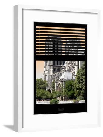 Paris Focus - Notre Dame Cathedral Window View