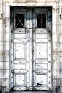 Paris Focus - Old White Door by Philippe Hugonnard