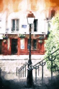 Paris Montmartre Stairs by Philippe Hugonnard
