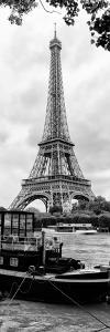 Paris sur Seine Collection - Eiffel Boat VIII by Philippe Hugonnard