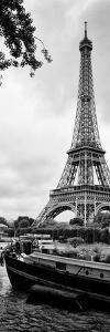 Paris sur Seine Collection - The Eiffel Tower and the Quays XI by Philippe Hugonnard
