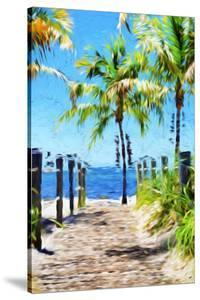 Path to the Beach III - In the Style of Oil Painting by Philippe Hugonnard