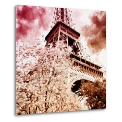 Pink Eiffel - In the Style of Oil Painting