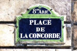 Place de la Concorde Paris by Philippe Hugonnard