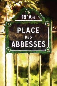 Place des Abbesses Paris by Philippe Hugonnard