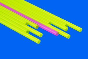Pop Straws Collection - Blue & Green by Philippe Hugonnard