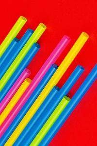 Pop Straws Collection - Colourful & Red by Philippe Hugonnard