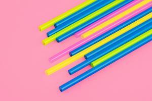 Pop Straws Collection - Light Pink & Colourful by Philippe Hugonnard