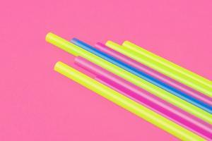 Pop Straws Collection - Pink & Colourful II by Philippe Hugonnard