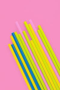 Pop Straws Collection - Pink & Colourful by Philippe Hugonnard