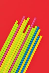 Pop Straws Collection - Red & Colourful by Philippe Hugonnard
