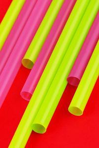 Pop Straws Collection - Red & Green by Philippe Hugonnard