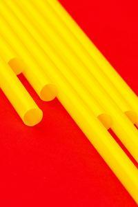 Pop Straws Collection - Red & Yellow by Philippe Hugonnard