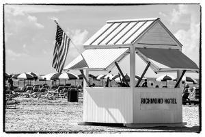 Private Beach Miami Beach - Richmond Hotel South Beach - Florida by Philippe Hugonnard