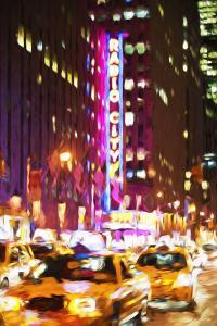 Radio City - In the Style of Oil Painting by Philippe Hugonnard