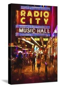 Radio City Music Hall by night by Philippe Hugonnard