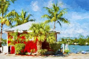 Red House - In the Style of Oil Painting by Philippe Hugonnard