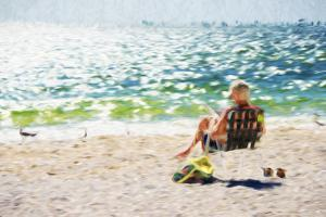 Relaxing Day - In the Style of Oil Painting by Philippe Hugonnard