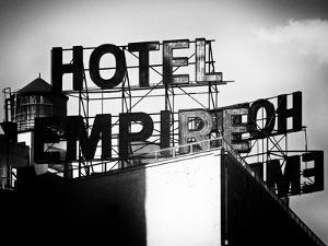 Rooftop, Hotel Empire, Upper West Side of Manhattan, Broadway, New York, Old by Philippe Hugonnard