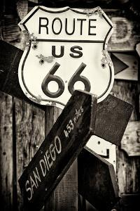 Route 66 US by Philippe Hugonnard