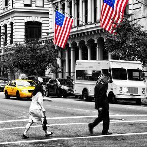 Safari CityPop Collection - Crossroad at Manhattan III by Philippe Hugonnard