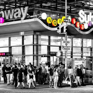 Safari CityPop Collection - Manhattan Subway Station III by Philippe Hugonnard