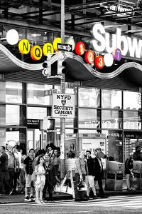 Safari CityPop Collection - Manhattan Subway Station V by Philippe Hugonnard