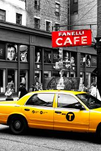 Safari CityPop Collection - New York Yellow Cab in Soho II by Philippe Hugonnard