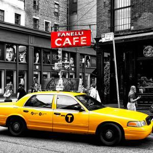 Safari CityPop Collection - New York Yellow Cab in Soho IV by Philippe Hugonnard