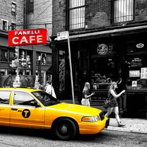 Safari CityPop Collection - New York Yellow Cab in Soho V by Philippe Hugonnard