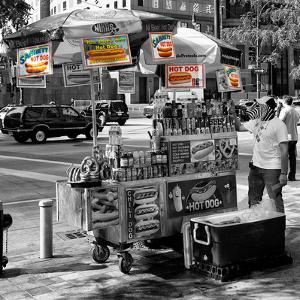 Safari CityPop Collection - NYC Hot Dog with Zebra Man II by Philippe Hugonnard