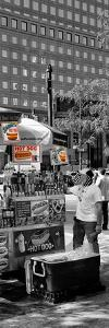 Safari CityPop Collection - NYC Hot Dog with Zebra Man IV by Philippe Hugonnard