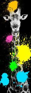 Safari Colors Pop Collection - Giraffe VI by Philippe Hugonnard