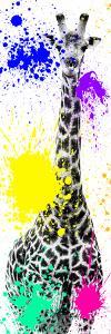 Safari Colors Pop Collection - Giraffe X by Philippe Hugonnard